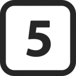 Numbers-5-icon